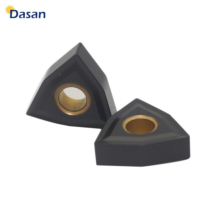 PVD carbide inserts blade Milling cutter blade inserts 50pcs TPKR1603 PDTR LT30
