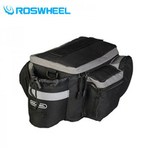 ROSWHEEL Cycling Saddle Bag Waterproof Bicycle Accessories Rear RainCover Bag 6L Riding Bicycle Bike Cycling Bag