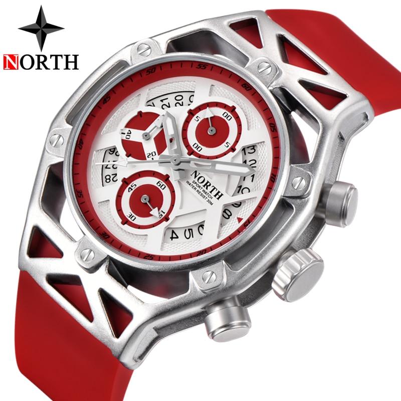 abc73063f Comprar Norte Relojes Para Hombre Marca De Lujo Reloj Cuarzo Los ...