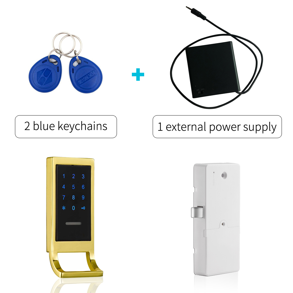 Digital Keypad RFID Gym Locker lock Electronic Cabinet lockDigital Keypad RFID Gym Locker lock Electronic Cabinet lock