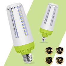 LED E14 10W Corn Lamp 220V E27 15W Led Bulb 20W Energy Saving Light Bulb 110V Ampoule Led SMD 5736 No Flicker For Home Lighting(China)
