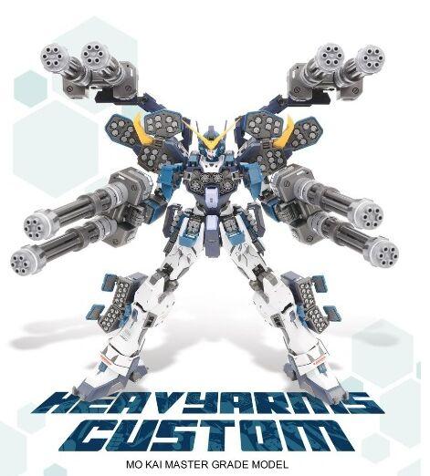 BANDAI MG 1//100 XXXG-01H GUNDAM HEAVY ARMS EW MODEL KIT Gundam W Endless Waltz