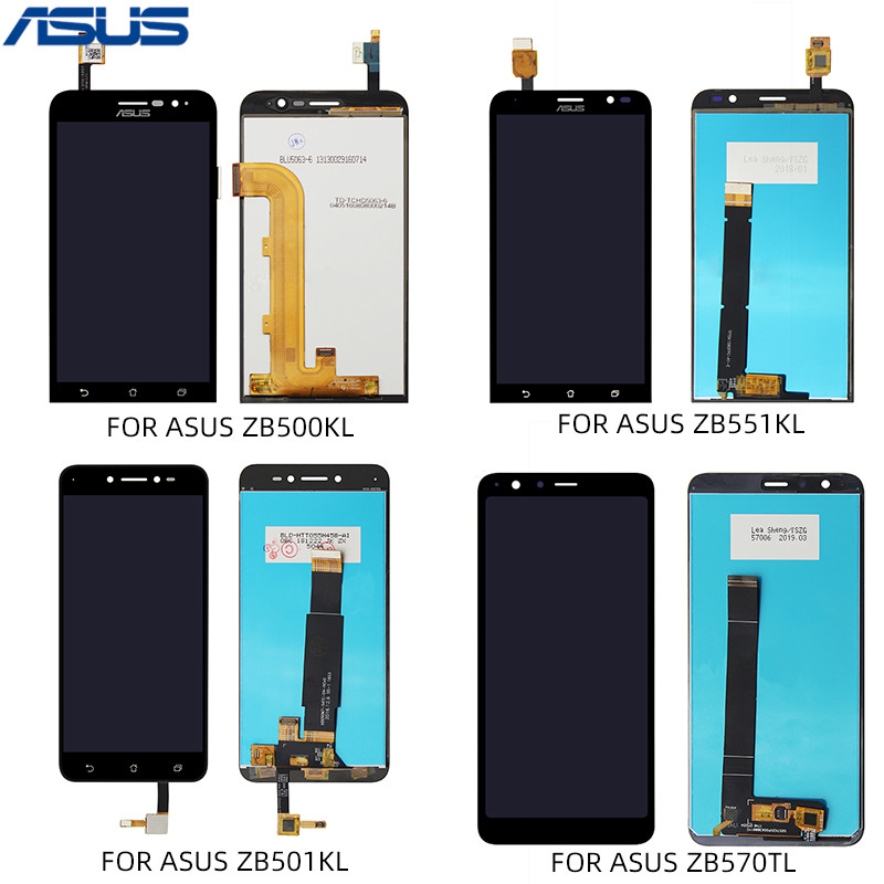 For ASUS ZB500KL ZB501KL <font><b>ZB551KL</b></font> ZB570TL LCD <font><b>Display</b></font> Touch Screen Digitizer Glass Replacement LCD <font><b>Display</b></font> Touch Screen Assembly image