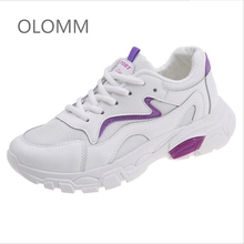 Women Shoes 2019 Platform Casual Woman Comfortable Breathable Female Sneakers Chaussure Femme