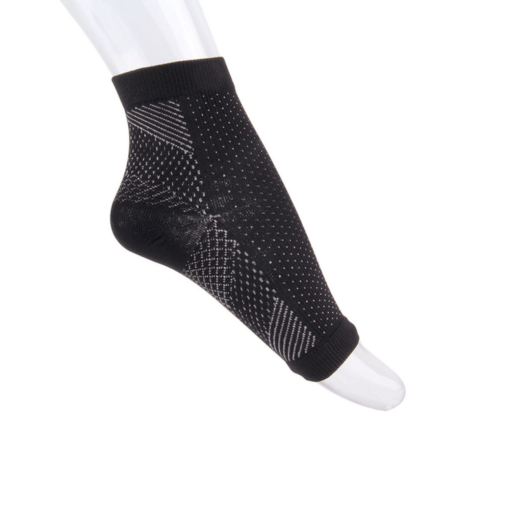 Professional Sports Feet Heel Protect Ankle Compression Socks Anti Fatigue Varicose Feet Sleeve Running Basketball Sock