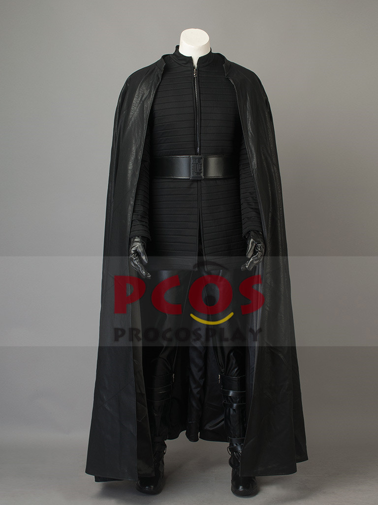 Star Wars:The Last Jedi Kylo Ren Cosplay Costume & Boots mp003829