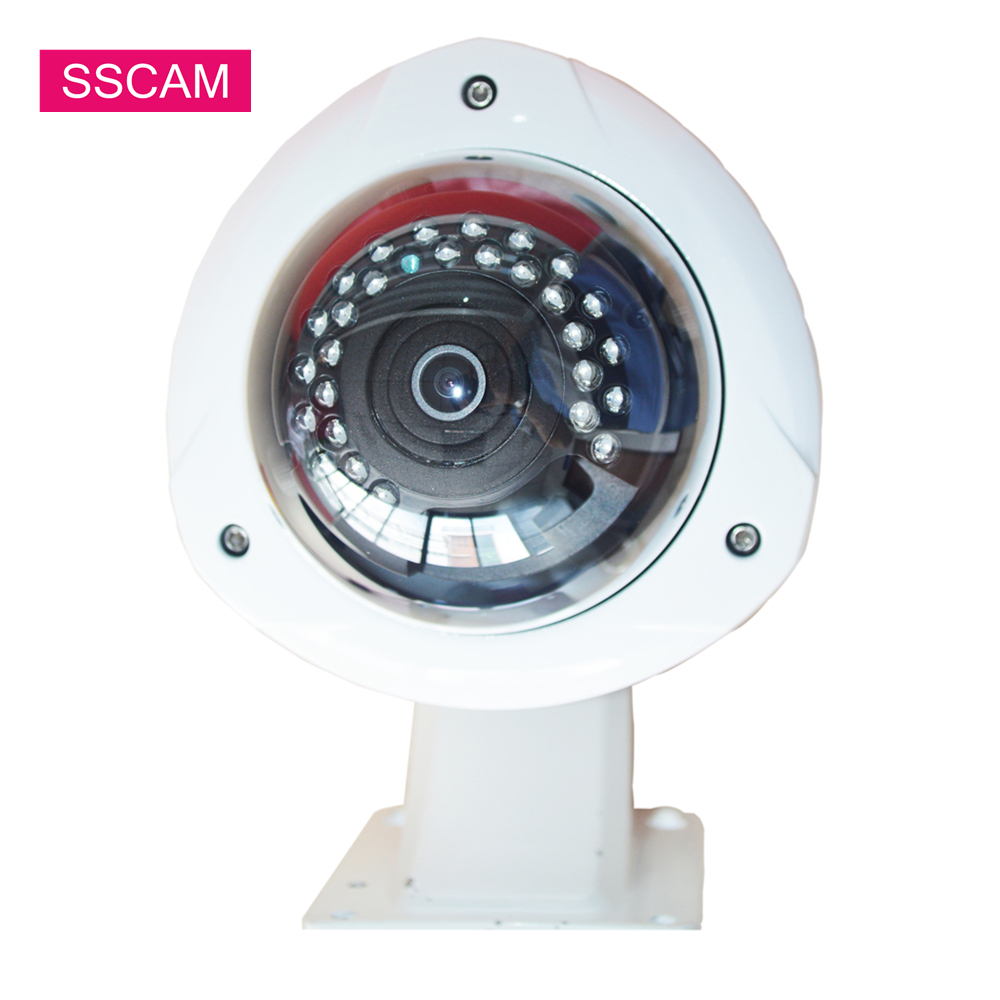 Waterproof 4MP AHD Dome CCTV Camera Wide Angle 1.7MM Panoramic Lens Indoor Outdoor Home Security Infrared CCTV Camera with OSDWaterproof 4MP AHD Dome CCTV Camera Wide Angle 1.7MM Panoramic Lens Indoor Outdoor Home Security Infrared CCTV Camera with OSD