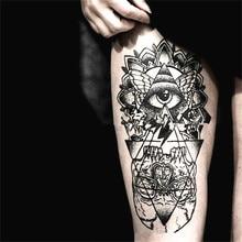 2PCS Henna Tattoo Sticker Temporary Tattoo Waterproof Fake Tattoo Sleeve One Time Transfer Tattoo Art