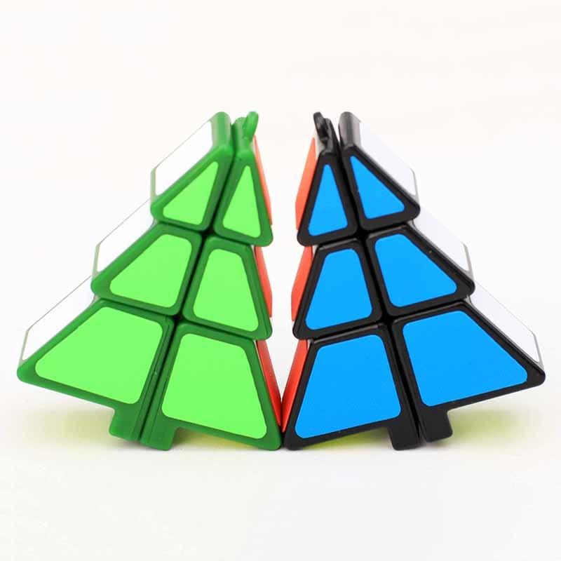 El más nuevo ZCUBE 1x2x3 Árbol de Navidad en forma de Cubo Mágico - Juegos y rompecabezas - foto 3