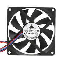 Original DELTA AFC0912DB 9015 90x90x15mm slim 12V 0.45A 3Pin or 4pin PWM computer CPU cooler thin cooling fan
