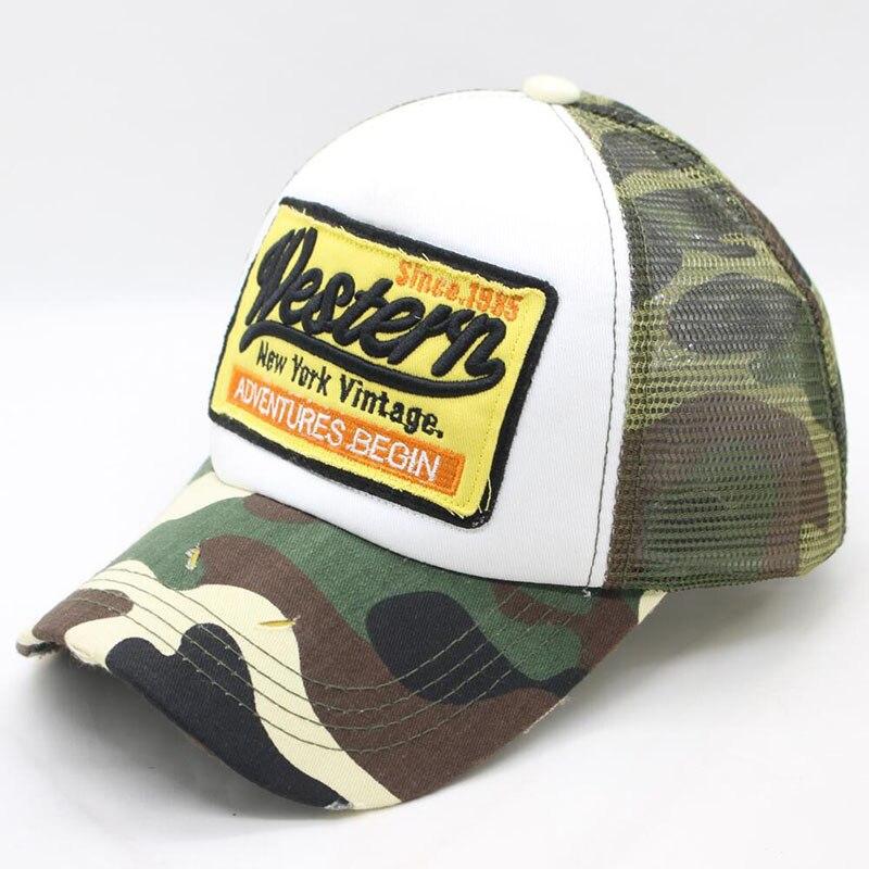 BING YUAN HAO XUAN Summer Baseball Cap Embroidery Mesh Cap for Men Hats Caps Man Hip Hop Caps Dad Hat Casquette in Men 39 s Baseball Caps from Apparel Accessories