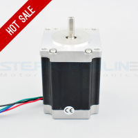 Nema 23 Stepper Motor 179oz in 1 26Nm 2 8A 56mm 4 wires 6 35mm Shaft_200x200 aliexpress com buy 1 axis stepper cnc kit 3 0nm(425oz in) nema  at bayanpartner.co
