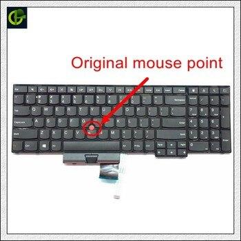 แป้นพิมพ์ภาษาอังกฤษใหม่สำหรับ Lenovo ThinkPad Edge E530 E530c E535 E545 04Y0301 0C01700 V132020AS3 US แล็ปท็อป
