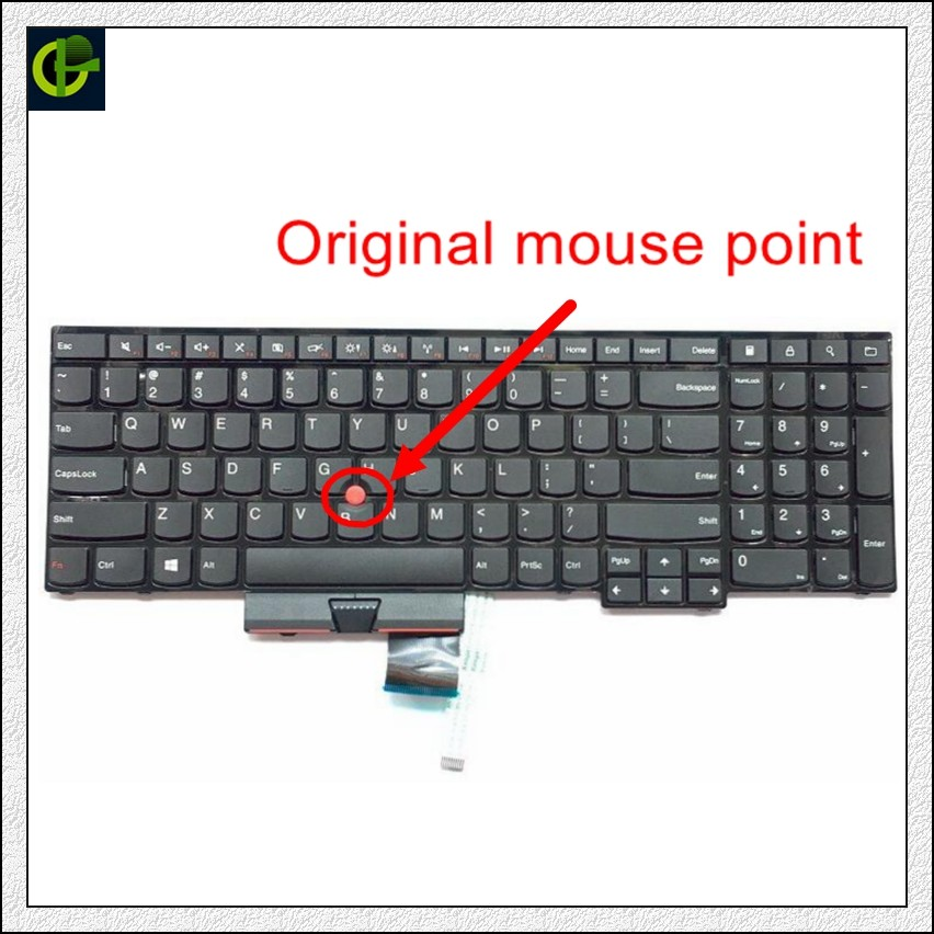 New English Keyboard For Lenovo ThinkPad Edge E530 E530c E535 E545 04Y0301 0C01700 V132020AS3 US Laptop