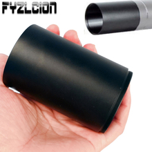 Hunting 40mm/50mm Objective Alloy Sunshade Tube for Airgun Air Rifle Lens Telescope Scope Mount Accessories