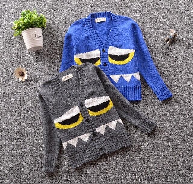 818550e7 Newborn Baby Sweaters For Boy Cotton Soft Cardigan Long Sleeve V-Neck Kids  Jacket Coat