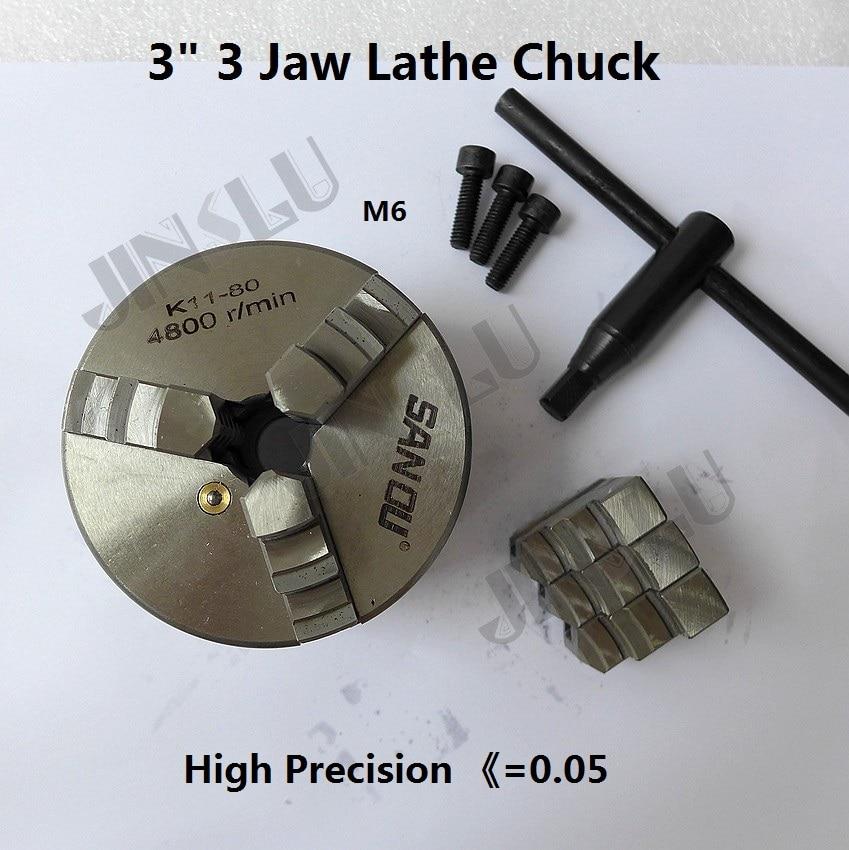 3 jaw chuck lathe machine