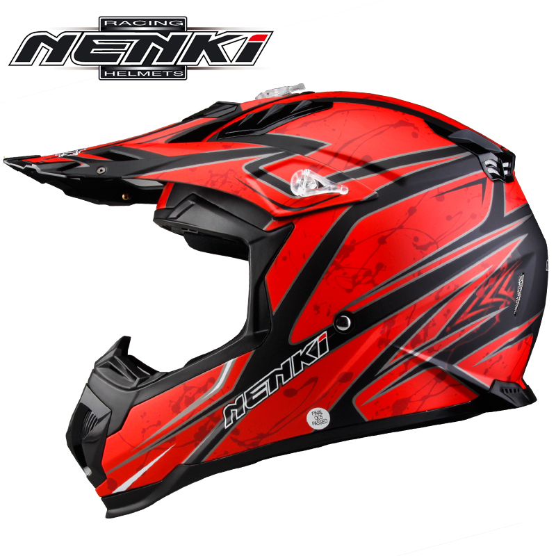 Professional  Motocross Off-Road Helmet Extreme Sports Motorcycle ATV Dirt Bike Casco BMX DH Racing Capacetes Nenki315 scoyco professional motorcycle dirt bike mtb dh mx riding trousers motocross off road racing hip pads pants breathable clothing