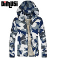 2016 New Men Fashion Camouflage Army Jacket Summer Tide Male Hooded Thin Quick Dry Sunscreen Waterproof UV Coat Wholesale,YA400