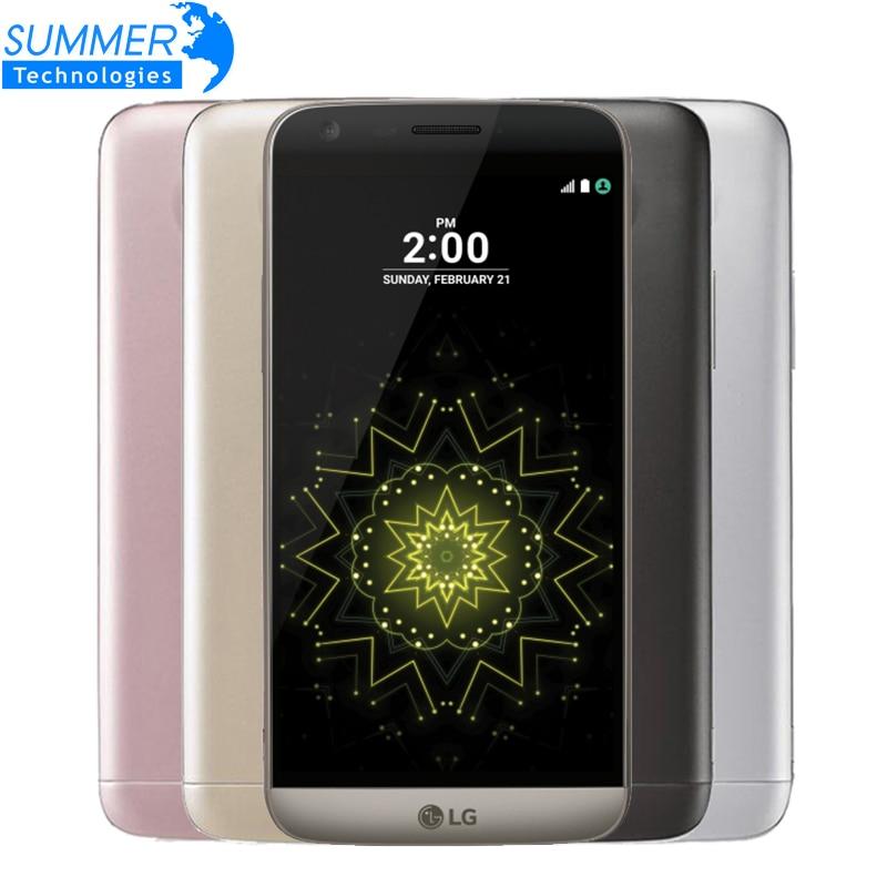Abierto original lg g5 teléfono móvil quad-core 4 gb ram 32 gb rom 5.3 \