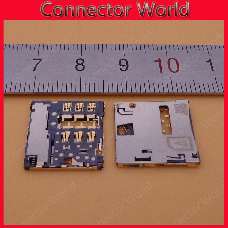 US $5 65 |2 100pcs For Lenovo S8 50LC S8 50F Sim sd Card Tray S8 50 Sim  Card Slot reader socket connector module replacement repair phone-in