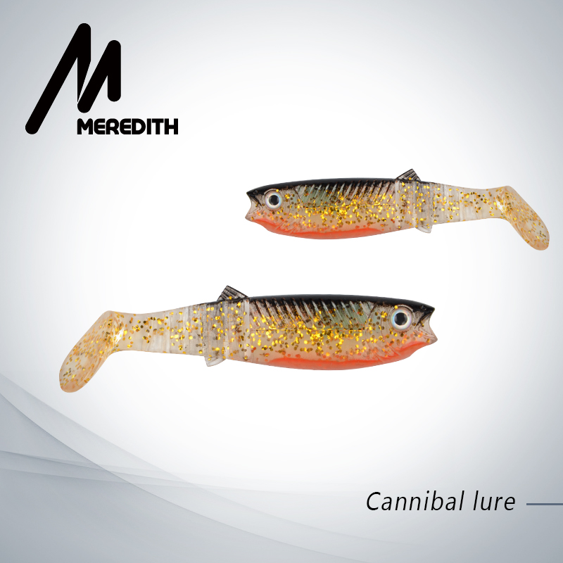 MEREDITH 5PCS 10.5g 10cm Lures Fishing Lures soft Fishing Baits Cannibal Soft Lures Shads Fishing Fish JX62-10 super value 101pcs almighty fishing lures kit with mixed hard lures and soft baits minnow lures accessories box