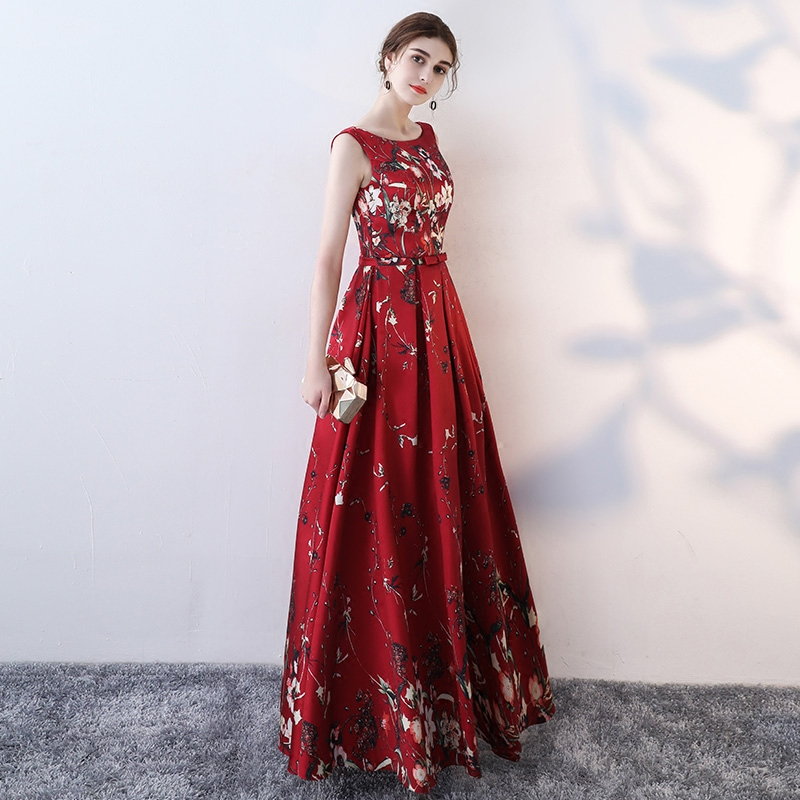 Junoesque Colorful Formal Evening Dresses 2018 Sexy Party Long Prom