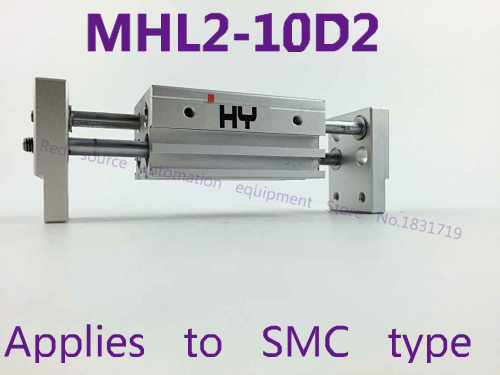 SMC type MHL2-10D2 wide type gas claw / pneumatic finger parallel opening and closing,MHL2 10D2 opening and closing width 96-156 smc brand new original finger cylinder grip claw claw mhl2 16d