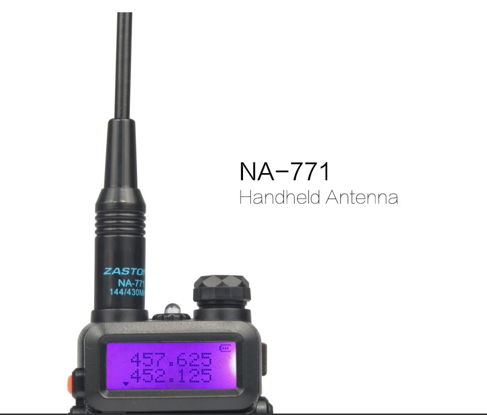 NA771 Antenne pour talkie walkie baofeng 888 s UV 5R UV 82 RFD dual band baofeng kenwood radio antenne NA771