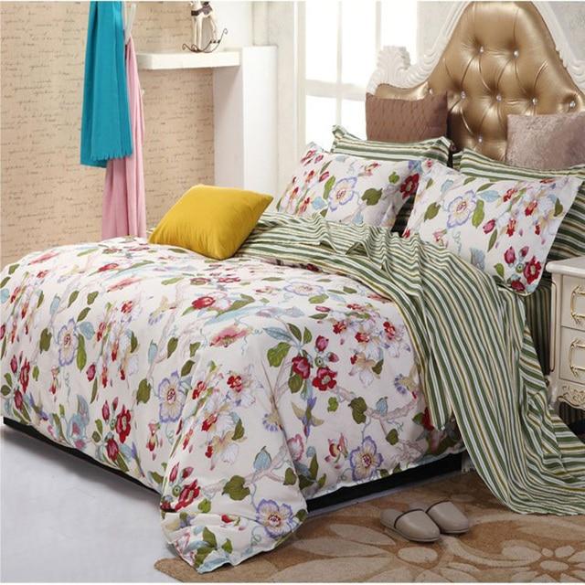 Bettwasche Blumen Baumwolle