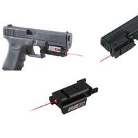 Taktik 532nm Colt M9/Mlitary P226 Kırmızı Nokta Lazer sight Kapsam GL Için Picatinny Ray 22mm Dağı ile 17 19 20 21 22