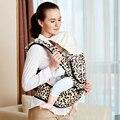 Novo Design Do Bebê Macia Mochila Respirável Bebê Hipseat Portador Infantil Dupla Alça de Ombro Cinto de Segurança Saco de Fezes Cintura Bebê