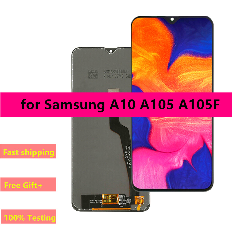 Original Replacement Screen for Samsung Galaxy A10 LCD Display Digitizer Assembly A10 A105 A105F SM A105F|Mobile Phone LCD Screens| |  - title=
