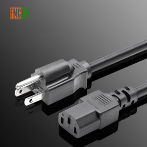 Image 5 - 米国 2.5 メートルの電源コード 2 ピンラウンド AC 米国のプラグイン 1.5mm2 厚いサーバーの電源ケーブル/リード/コード ups/PDU サーバー