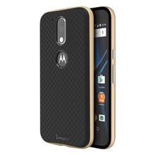 iPaky Original Brand Moto G4 PC Frame + Silicone Hybrid Back Cover Cellphone Case for Motorola Moto G4/G4 Plus