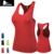 Estilo do verão Mulheres Traning Aptidão Musculação Tanque Sem Mangas Encabeça meninas Suor Skinny justas Compressão Base de Camada Colete