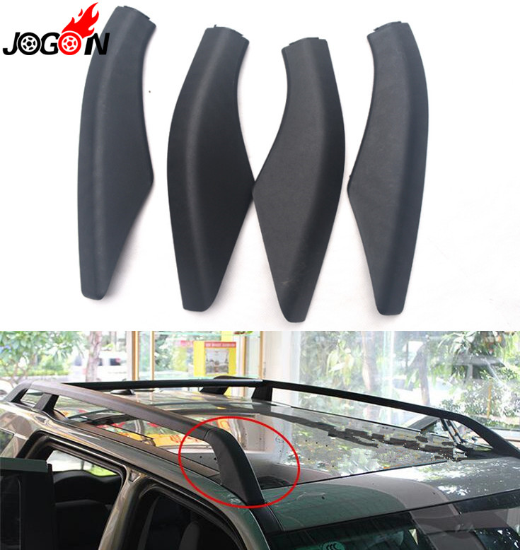 Car Styling 4PCS Roof Rack Rail End Protector Cover Shell