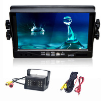 LED Reverse Camera 7 TFT LCD Monitor For Truck Bus Parking Assistance Monitors S DC 9V/35V Car Monitors