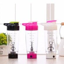 Usb-gebühren 600 ml Elektrische Automatisierung Protein Shaker Mixer Meine wasserflasche Automatische Bewegung Außen Tour Kaffeemilch Mischer Cu