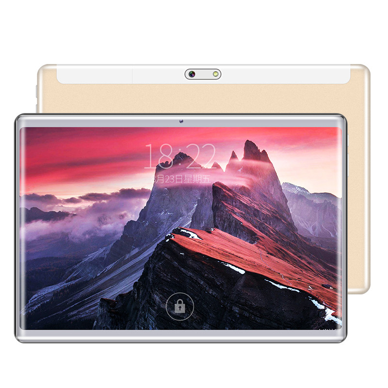 Google Play Tablet Pc 10 Inch Android 8.0 Phone Tablets Octa Core 4GB RAM 64GB ROM Dual Sim WiFi FM IPS GPS Pad 10.1 Tablet