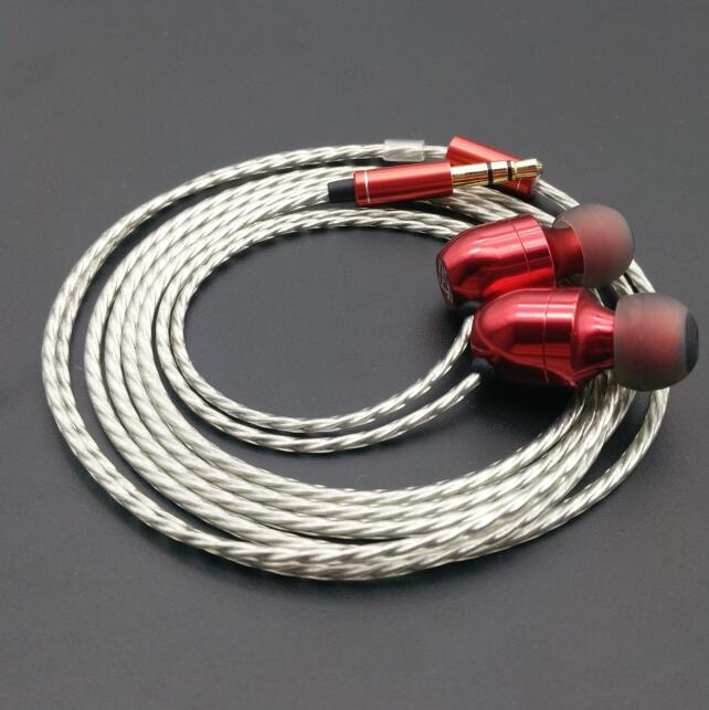 AK Audio MusicMaker TK12 Dynamically With 2BA 3 Unit Earphone HIFI Fever In Ear Earphone As K3003 DIY Hybrid Earphne цена