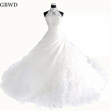 GBWD White Lace Bridal Gown Ball Gown Wedding Dresses