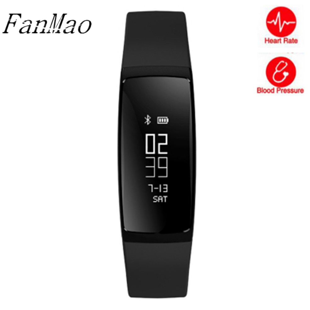 V07 Smart Bracelet Blood Pressure Watches Smart Band Heart Rate Monitor Fitness Pulsometro Activity Tracker for