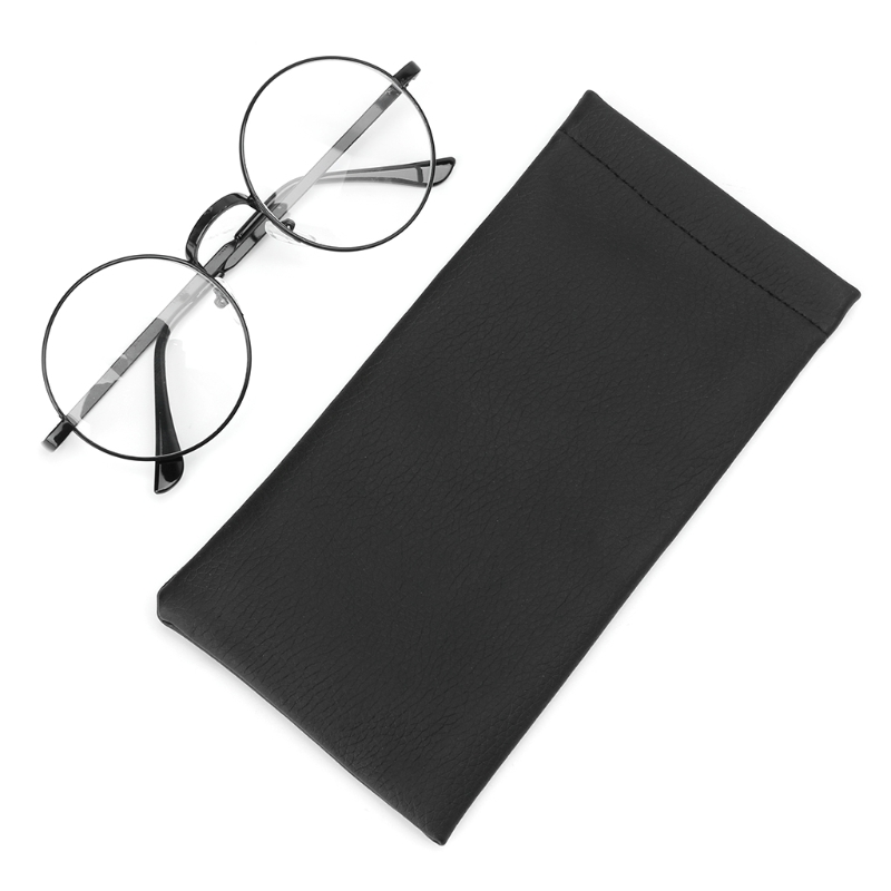 Hot New Men Women Auto-close Glasses Bag Faux Leather Sunglasses Spring Spectacles Waterproof Multifunctional High Quality