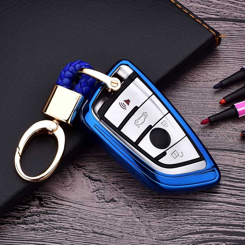 Soft TPU Key Case Cover Wallet For BMW <font><b>G30</b></font> <font><b>520I</b></font> serie 2 f46 440I x5 f15 f07 x6 f16 G11 X1 F48 F39 Accessories Car Styling image