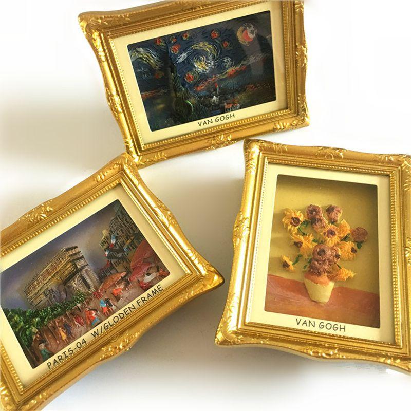 Girasoles de Van Gogh Paris Arc de Triomphe estrella Marcos 3D ...
