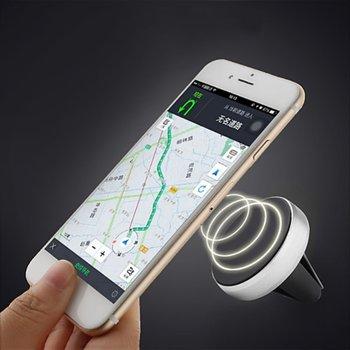 Elikliv Car Phone Holder Magnetic Air Vent Mount Mobile Smartphone Stand Magnet Support Cell Cellphone Telephone Desk in Car GPS smartphone