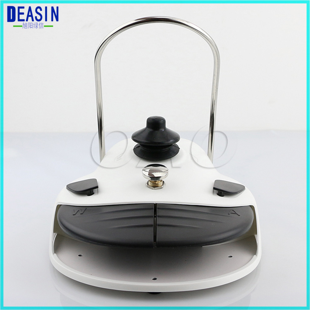 цена на Dental foot controller 2 holes 4 Holes foot control switch pedal Dental Valve dental materials dental chair unit