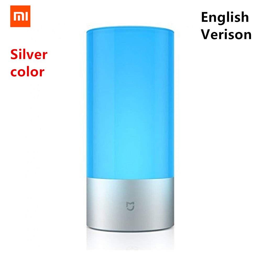 [English Version ]Xiaomi Mijia Yeelight LED Light Smart Indoor Night Light Bedside Lamp Remote Touch Control Smart App control цены онлайн