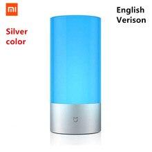 [Английская версия] Xiaomi Mijia Yeelight светодиодный светильник умный внутренний ночник прикроватная лампа пульт дистанционного управления сенсорным управлением умное приложение управление